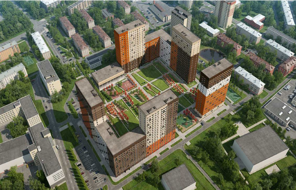 В районе Аэропорт появится жилой комплекс общей площадью 140 тыс. кв.м.