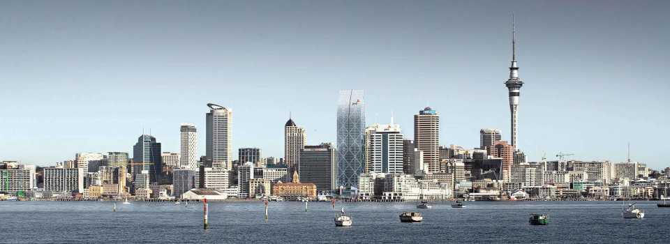 В Окленде (Новая Зеландия) будет установлен башенный кран высотой четверть километра