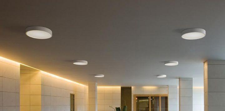 Электрика24: светодиодные светильники для натяжных потолков от производителя