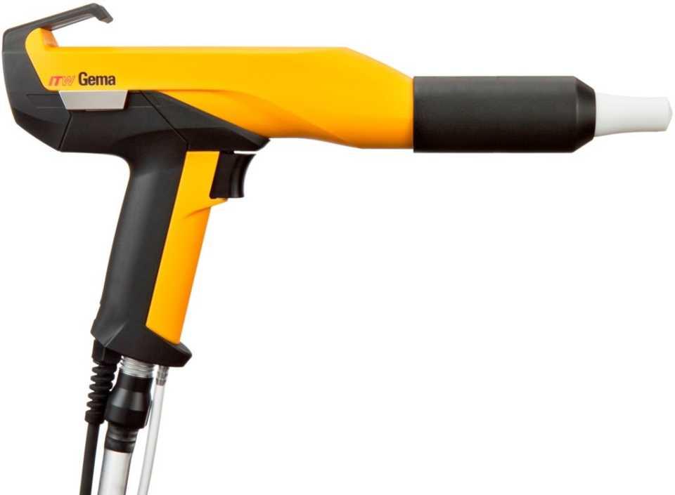Порошковые пистолеты - виды оборудования, особенности