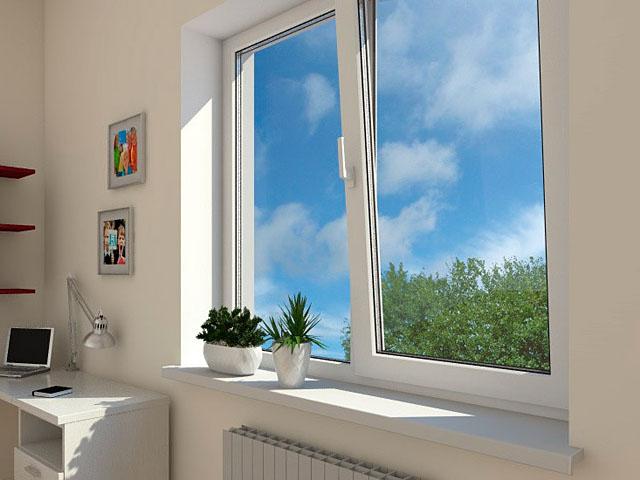 Откосы на окна из пластика