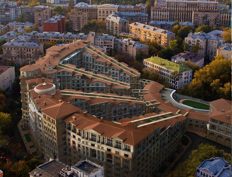 ЖК Итальянский квартал. Поселитесь в Италии в самом центре Москвы