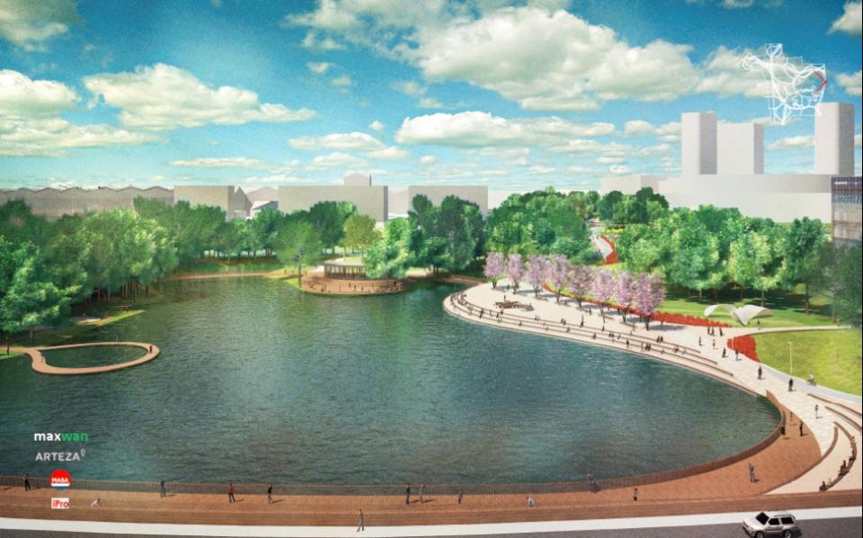 В Сколково обсудили ход работ над проектом Центрального парка