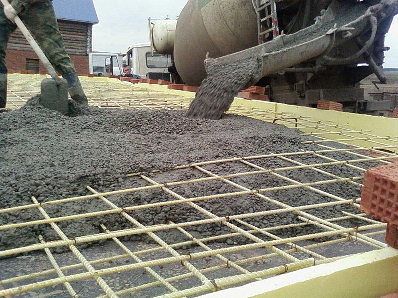 Преимущества и сфера применения бетона