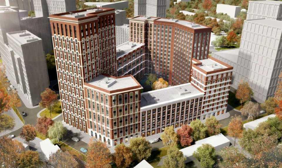 Согласовано архитектурное решение ЖК рядом с метро «Алексеевская»