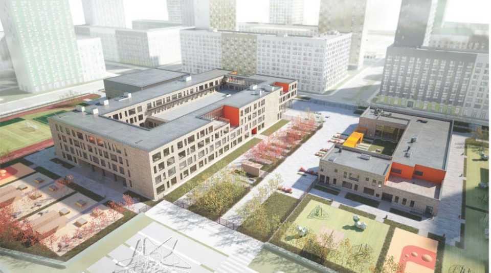 В Сосенском построят образовательный комплекс из школы и детского сада
