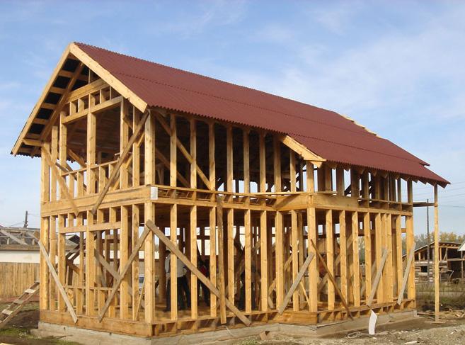 Строительство каркасного дома - тонкости и преимущества