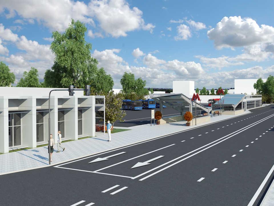 "Проект транспортно-пересадочного узла «Варшавская"" проходит публичные слушания"
