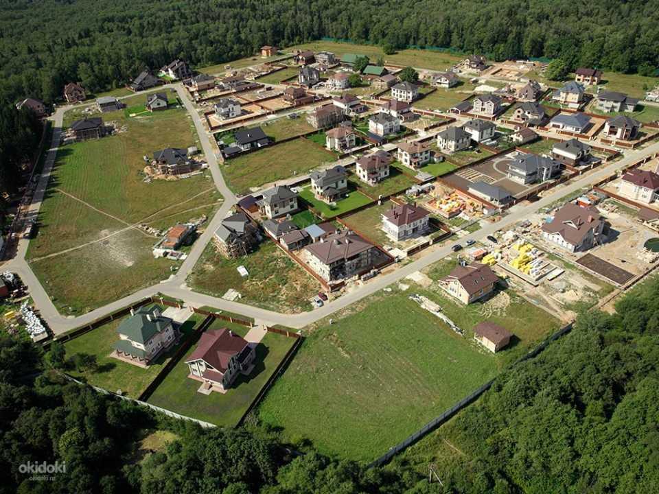 Покупка земли в посёлке бизнес-класса