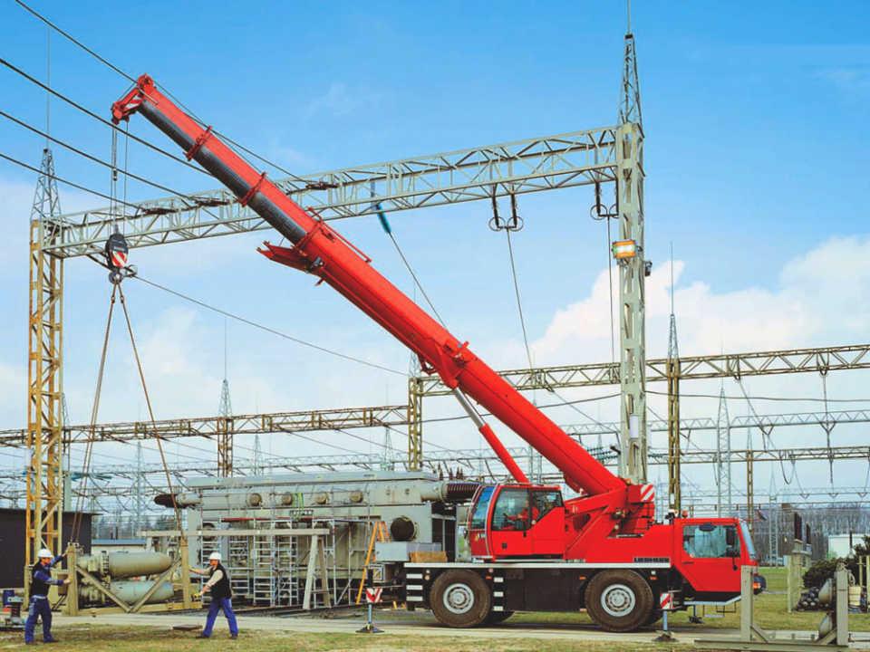 Liebherr 40 тонн