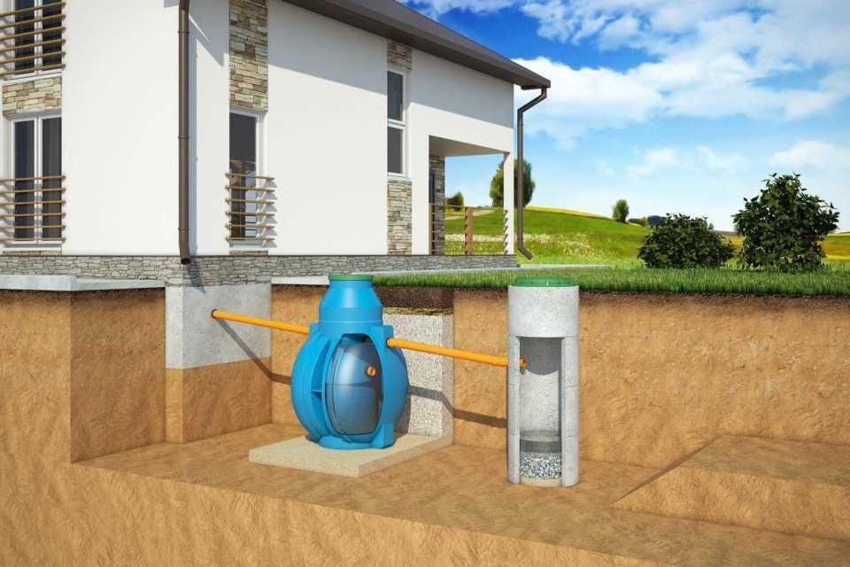 Как соорудить септик для высоких грунтовых вод?