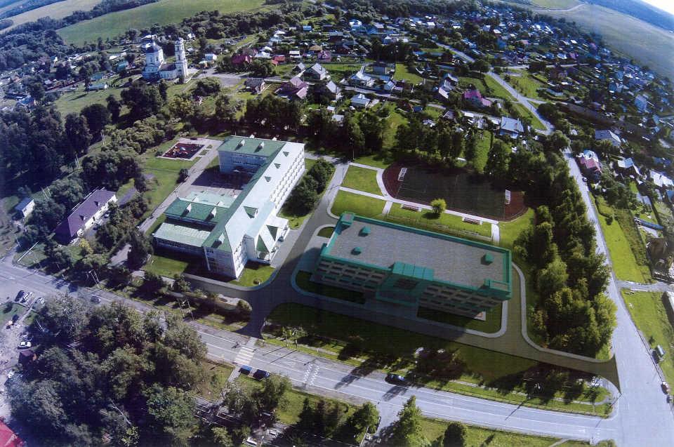 Школу в поселении Кленовское реконструируют
