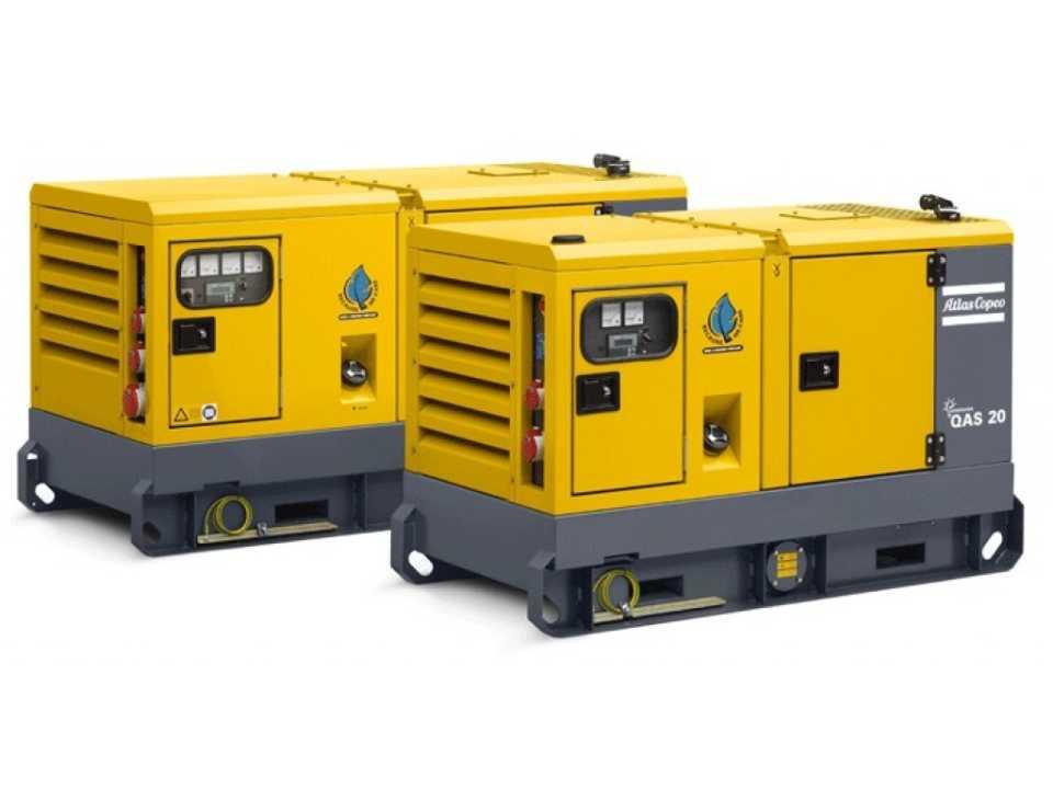Дизель генератор Atlas Copco QAS 40