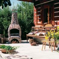 Садовые печи-барбекю: выбираем печь-барбекю для беседок