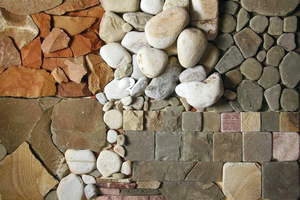 Натуральные камни для строительства - описание