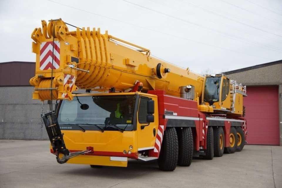 Автокраны 300-500 тонн