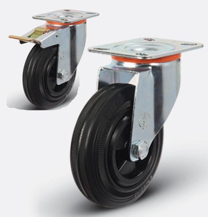 Колесные опоры для тележек: виды и конструкция