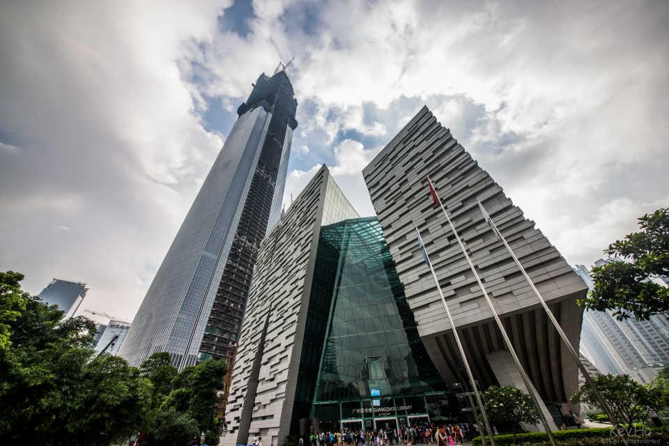 Финансовый Центр Чоу-Тай: Гуанчжоу, Китай