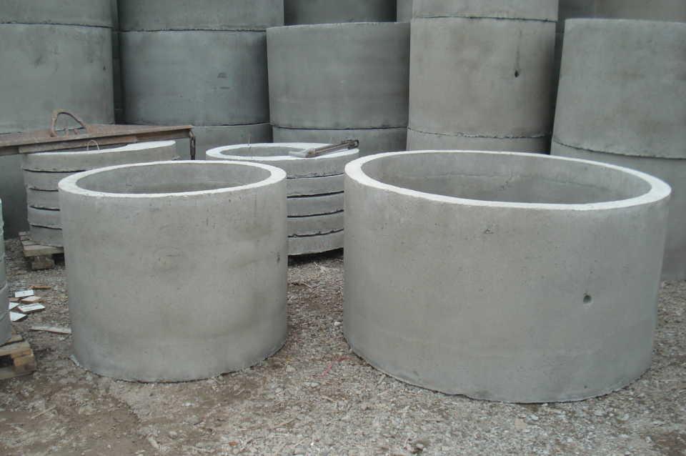 Как сделать погреб из бетонных колец