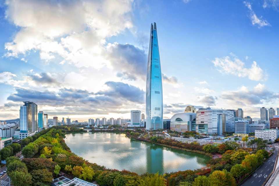 Башня Лотте: Сеул, Южная Корея