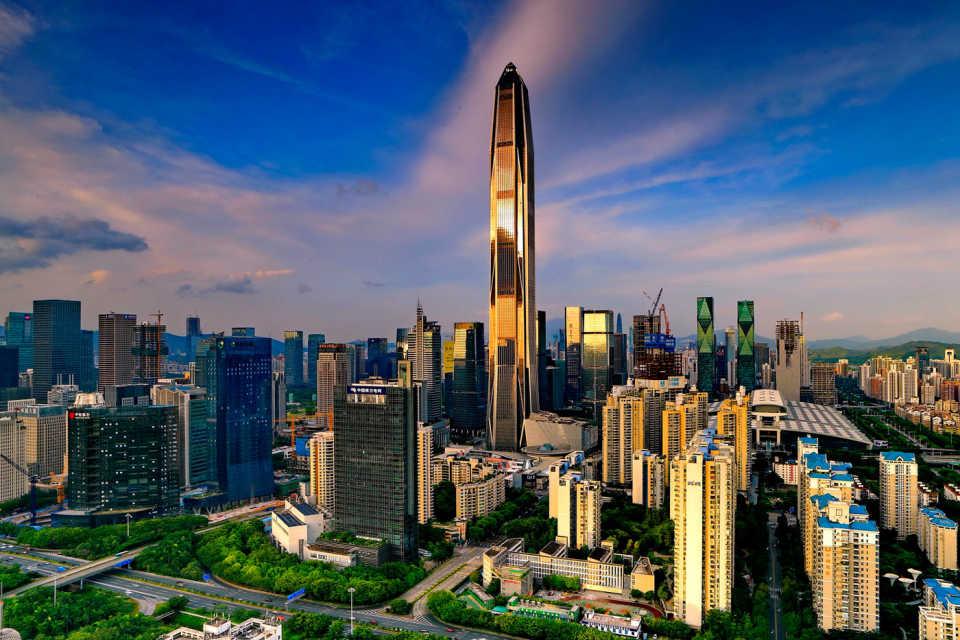 Международный финансовый центр Пинань: Шэньчжэнь, Китай