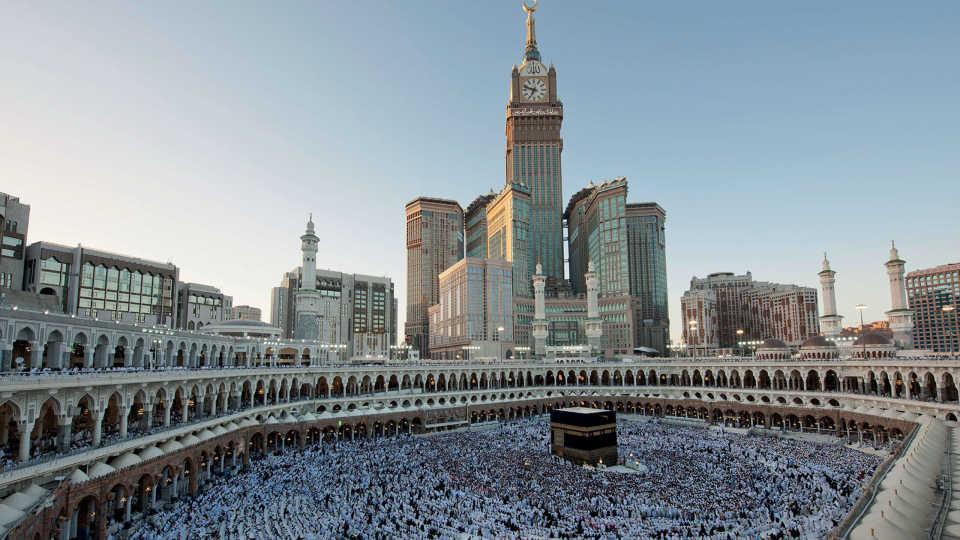 Башня с часами Абрадж аль-Бейт: Мекка, Саудовская Аравия