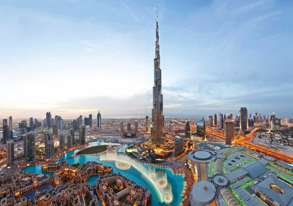 Бурдж Халифа: Дубай, ОАЭ