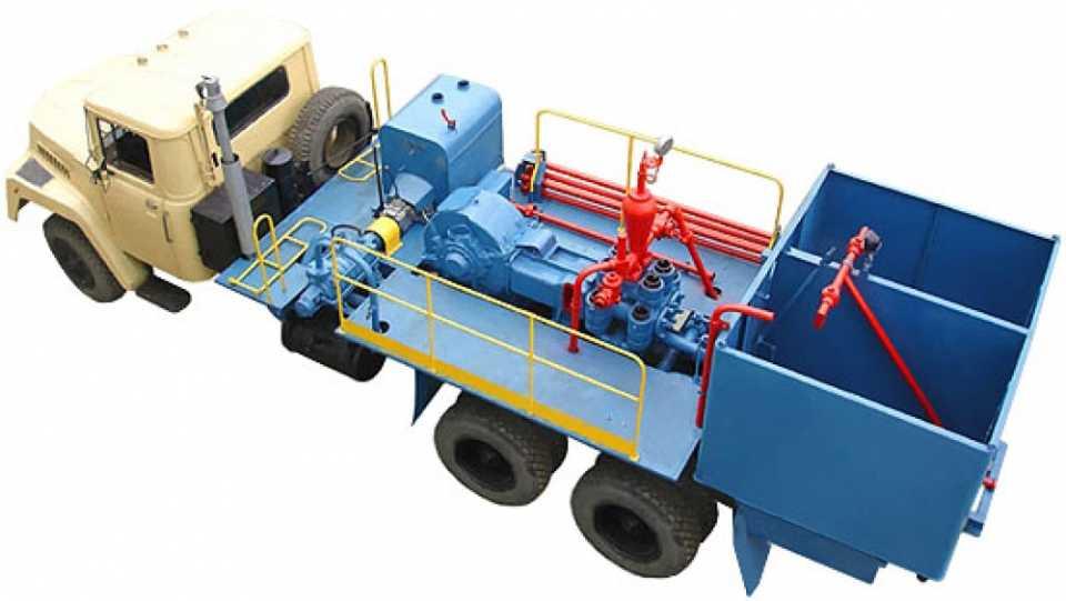 Цементировочные агрегаты
