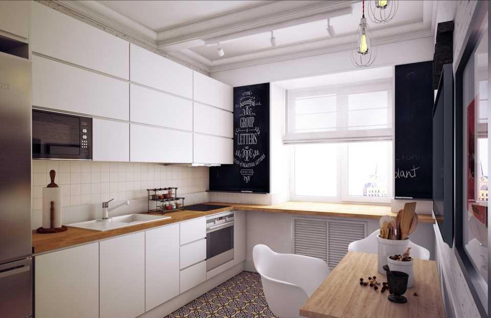 Стандартные планировки кухни