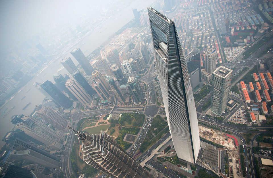 Шанхайский всемирный финансовый центр: Шанхай, Китай