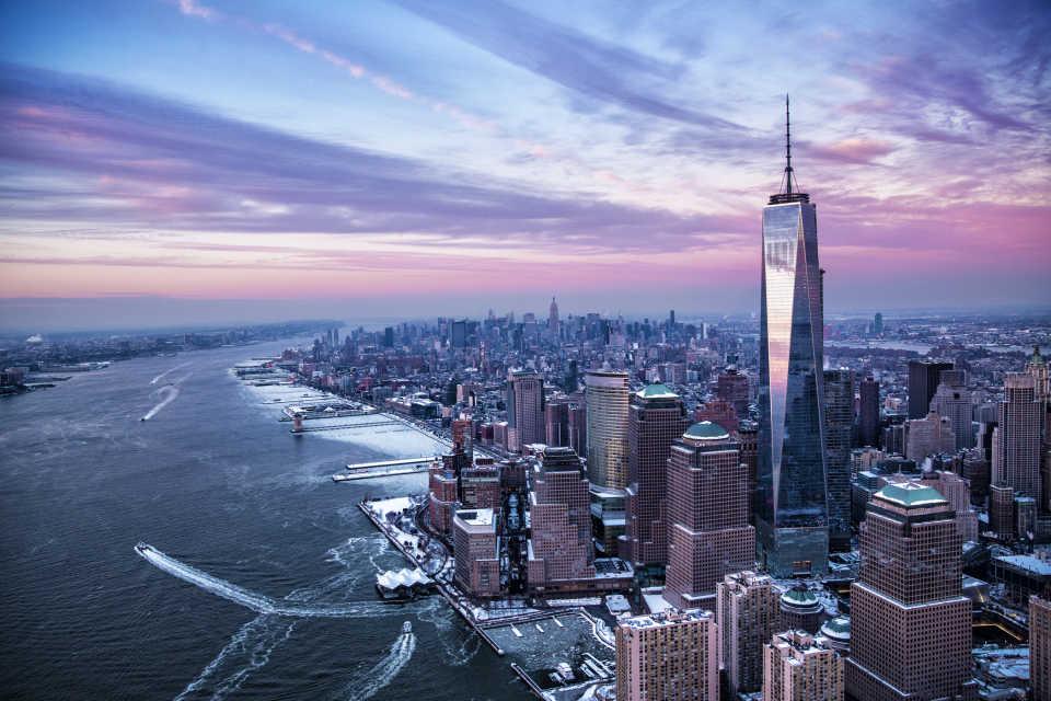 Всемирный торговый центр 1: Нью-Йорк, США