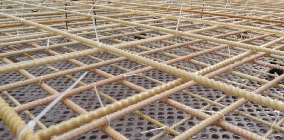 Стеклопластиковая арматура: производство и сфера применения