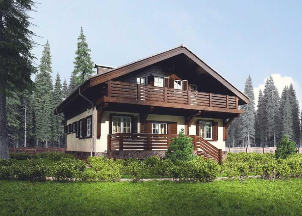Комбинированные дома - что они собой представляю и какие его достоинства
