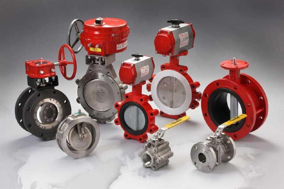 Трубопроводная арматура: разновидности и назначение