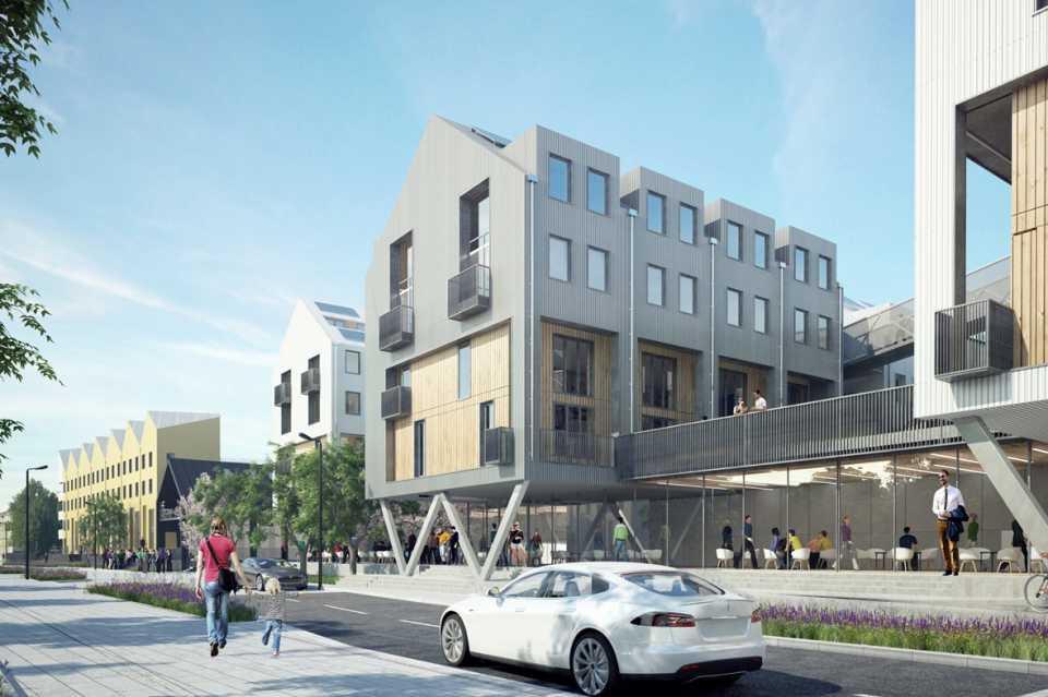 Шведский архитектор спроектировал «инновационный климатический район» в Лидсе