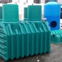 Монтаж септика из пластика