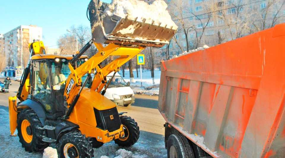 Уборка снега: пути решения проблемы