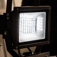 Светодиодные прожекторы – универсальные мощные источники света