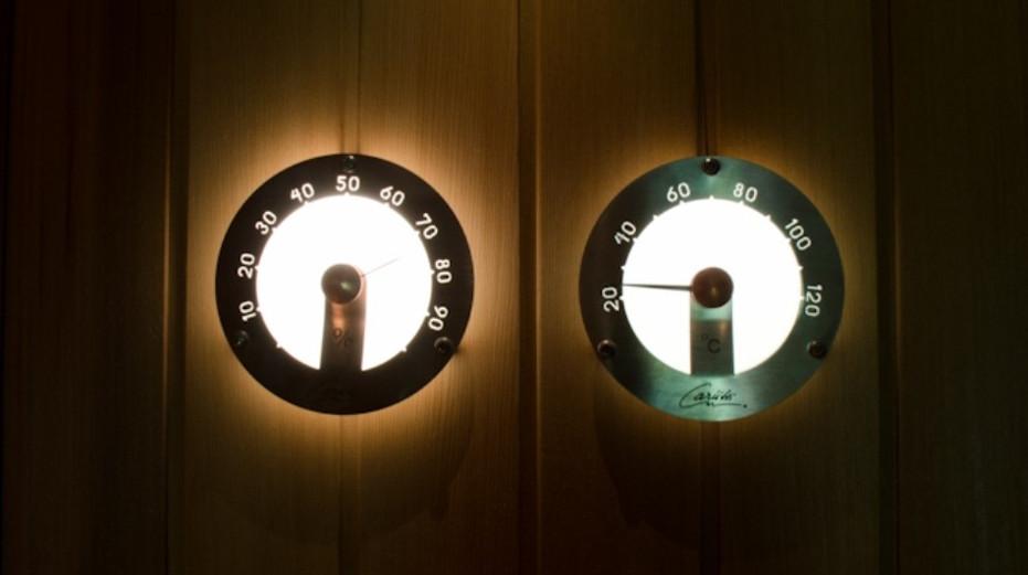 Принцип работы измерительных приборов для сауны