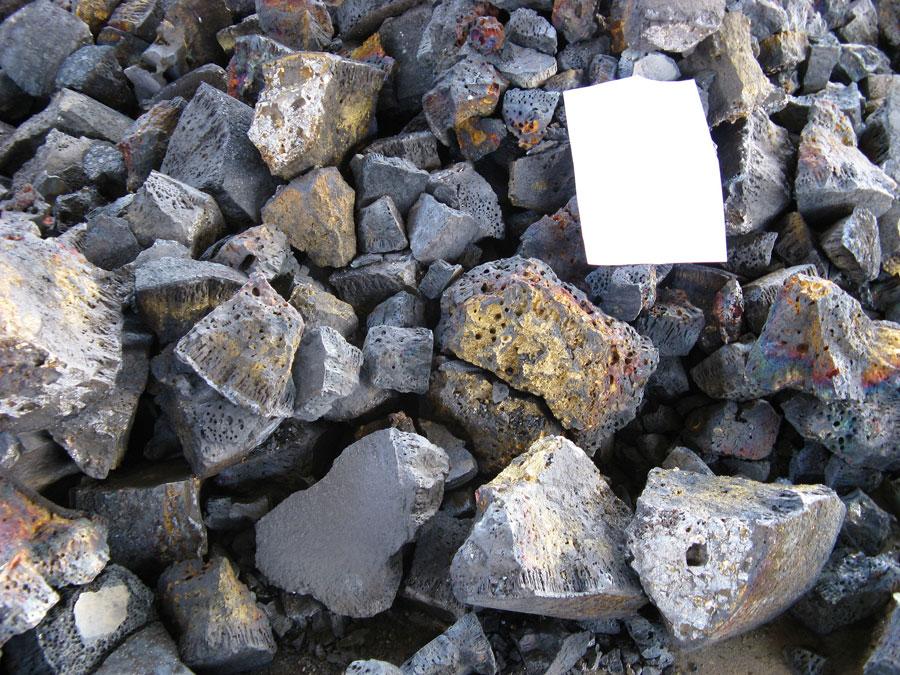 Шлак алюминия продам: вторичная переработка не вредит качеству металла