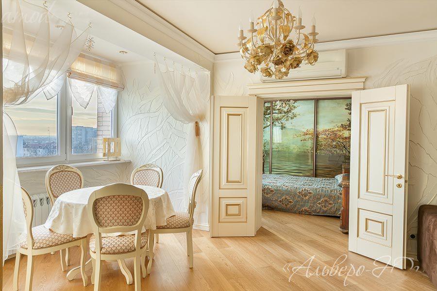 Обзор дверей в стиле прованс от производителя Альверо