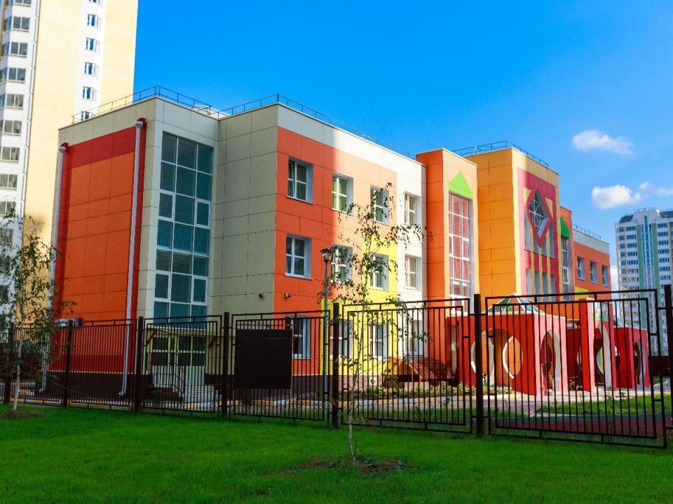 """Функционирующий детский сад в новом микрорайоне """"Центр 2"""""""