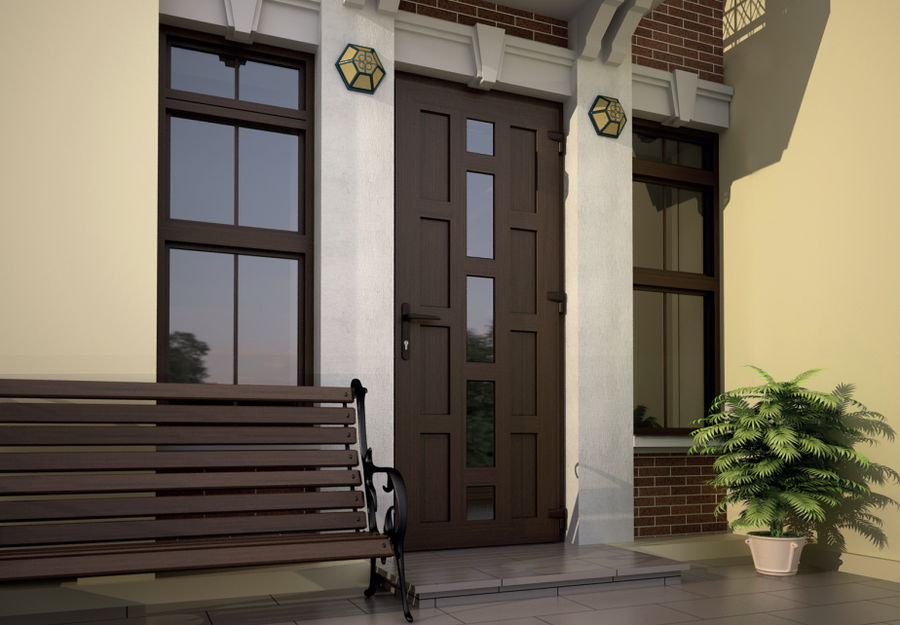 Советы по выбору входной двери в частный дом