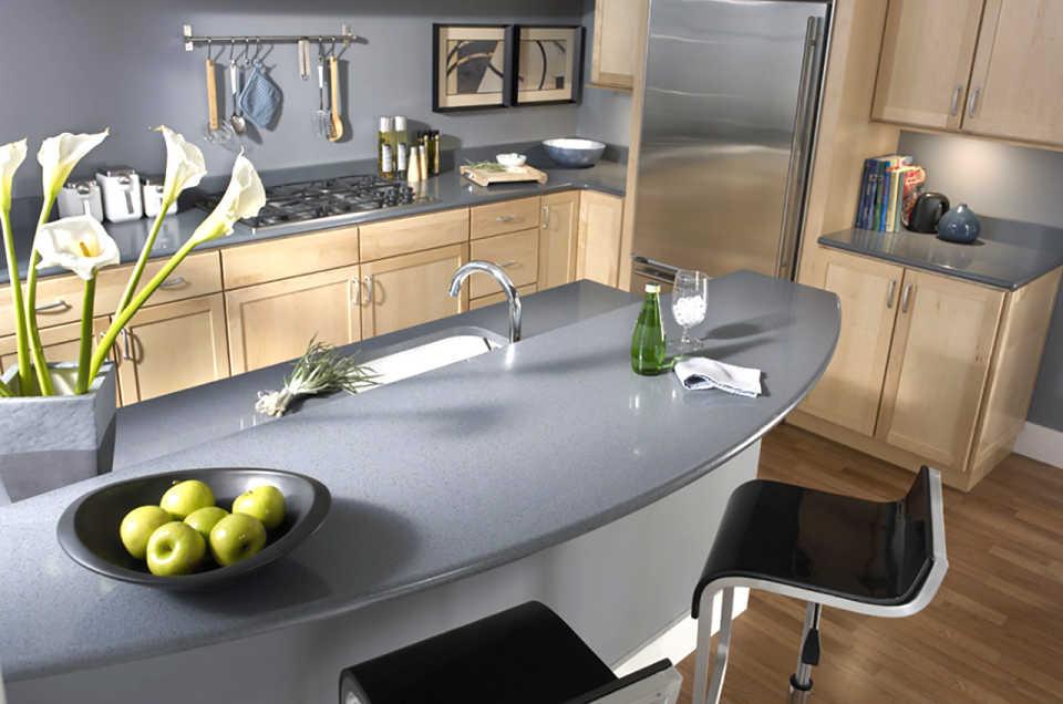 Акриловая столешница — стильное и практичное решение для вашей кухни
