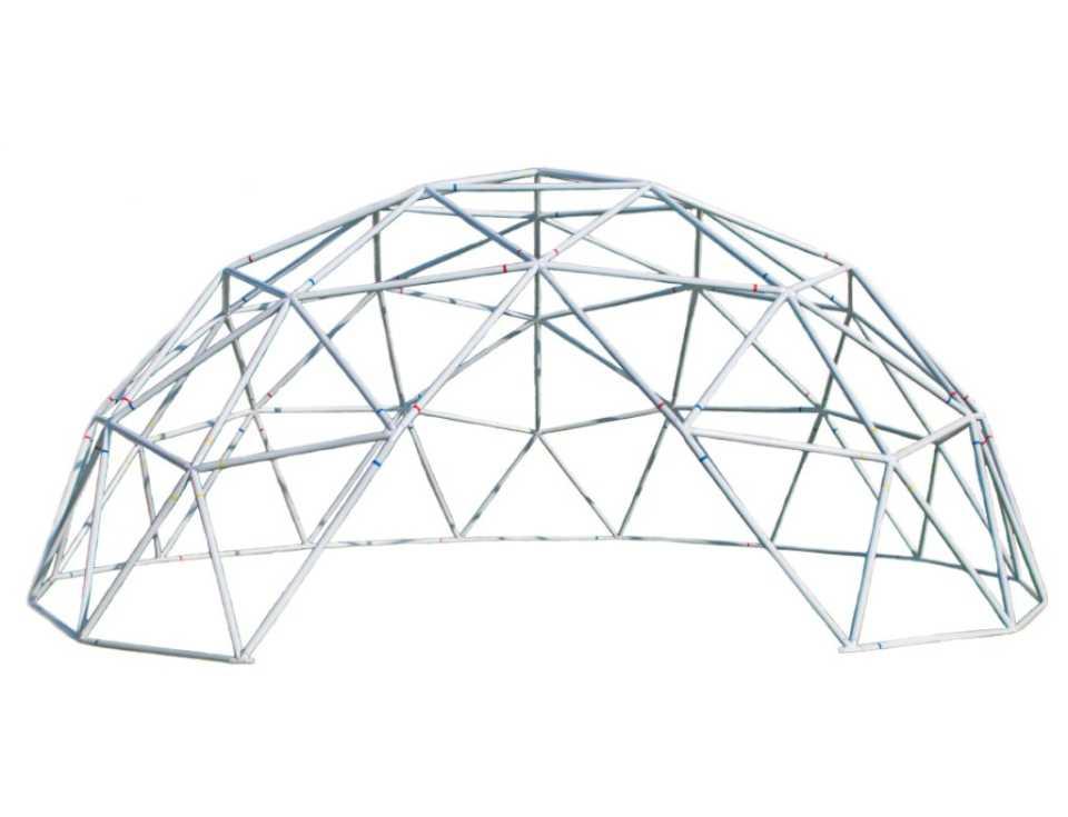 Структура геодезического купола