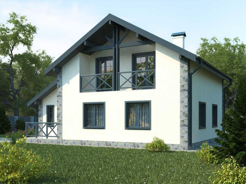 Дом из газобетона - построить выгодно