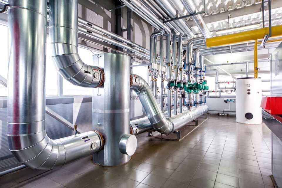 Промышленное отопление тепловыми насосами Ovanter