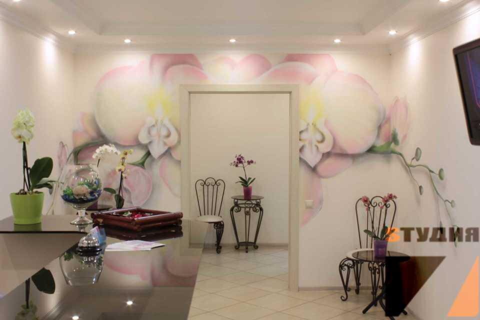 Роспись стен — модное направление для оформления интерьера