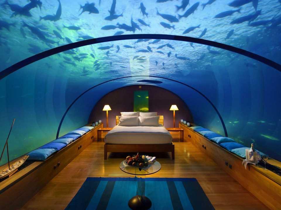 Компания Hilton Hotels планирует построить первую в мире подводную резиденцию на Мальдивских островах