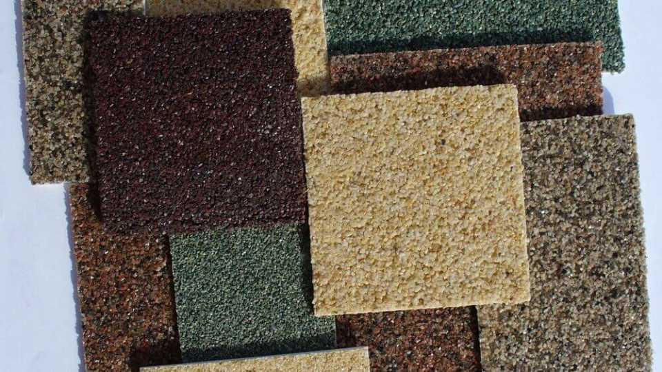 Фасадная штукатурка: выбор и особенности использования